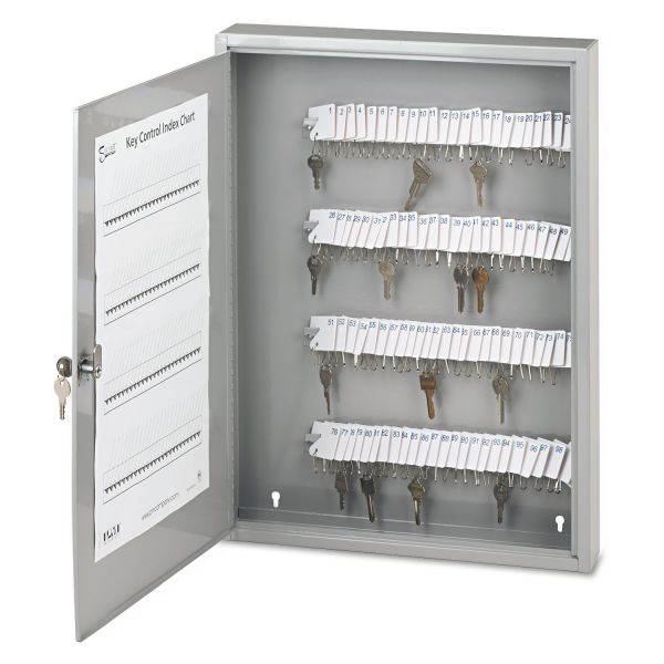 PM Locking Metal 100 Key Cabinet