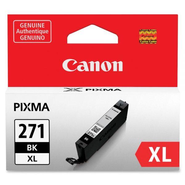 Canon CLI-271 High Yield Black Ink Cartridge (CLI271XLBK)