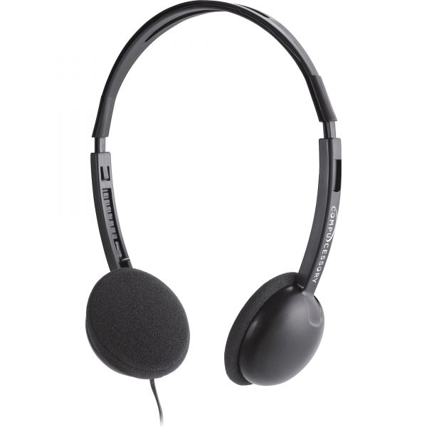 Compucessory Deluxe Lightweight Stereo Headphones