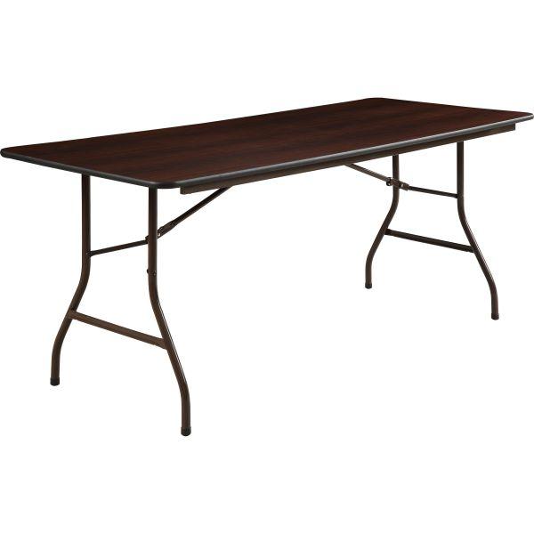 Lorell Economy Rectangular Folding Table