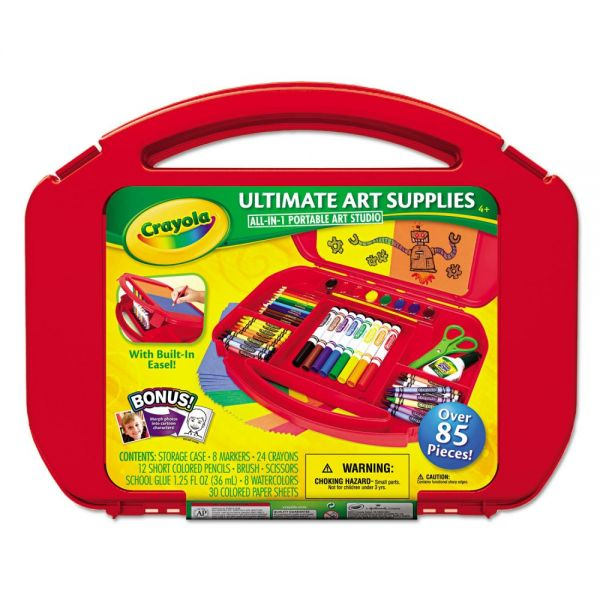 Crayola Ultimate Art Supplies and Easel