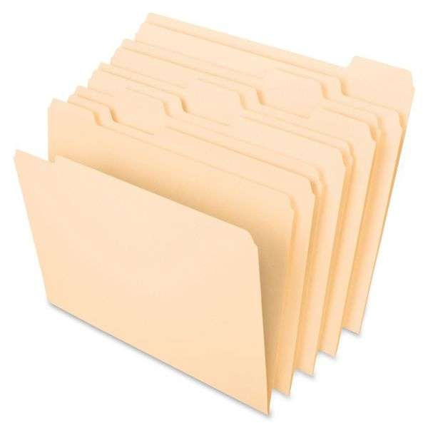 Pendaflex 1/5-cut Top Tab File Folders