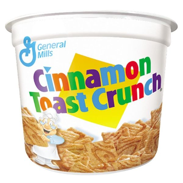 Cinnamon Toast Crunch Cereal-In-A-Cup