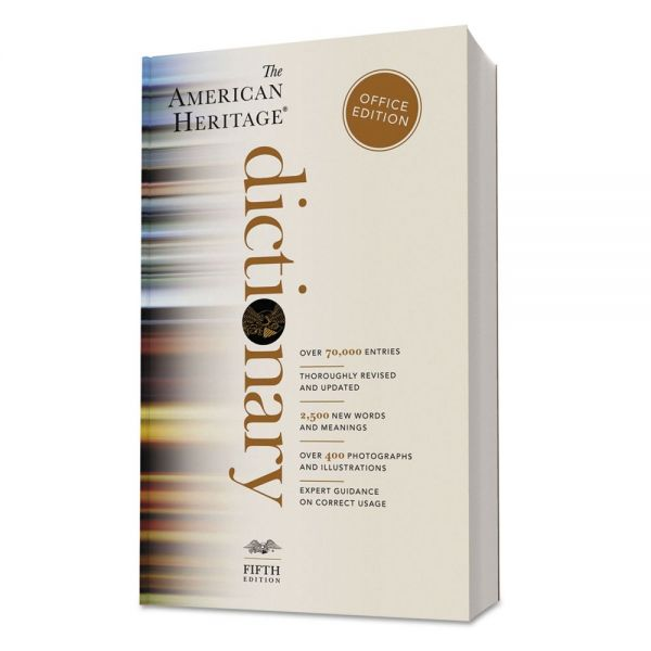 Houghton Mifflin American Heritage Office Edition Dictionary, Paperback, 960 Pages