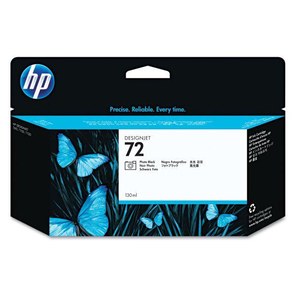 HP 72 Photo Black Ink Cartridge (C9370A)