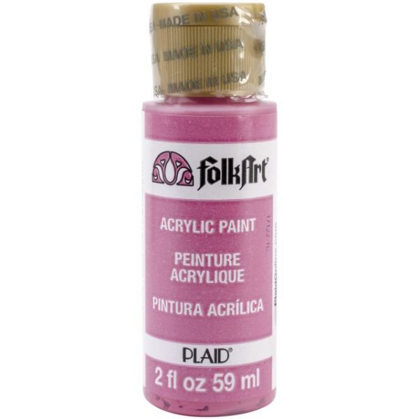Folk Art Brilliant Pink Acrylic Paint