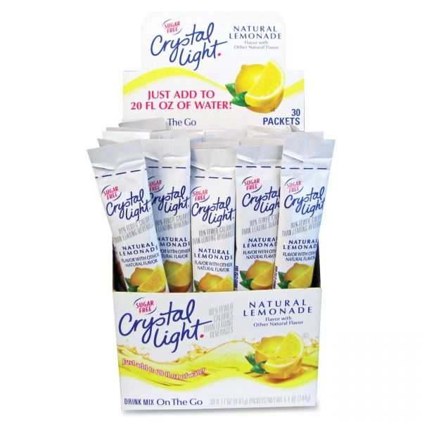 Crystal Light On-The-Go Mix Sticks