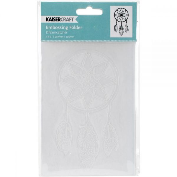 "Kaisercraft Embossing Folder 4""X6"""