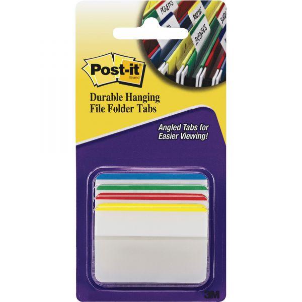 Post-it Durable Hanging File Folder Index Tabs