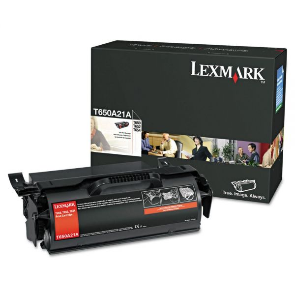 Lexmark T650A21A Black Toner Cartridge