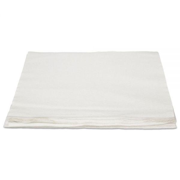 HOSPECO TASKBrand TopLine Linen Replacement Napkins, White, 16 x 16, 1000/Carton