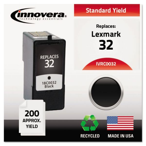 Innovera Remanufactured 18C0032 (32) Ink, Black