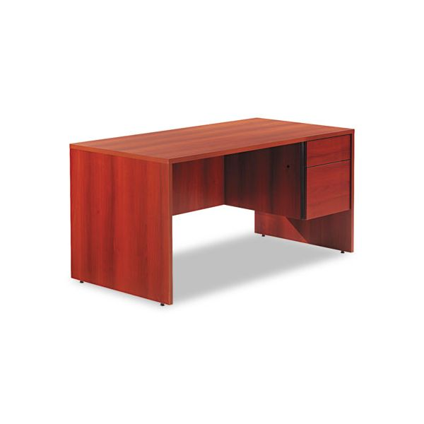 Global Genoa Series Single Right Pedestal Computer Desk