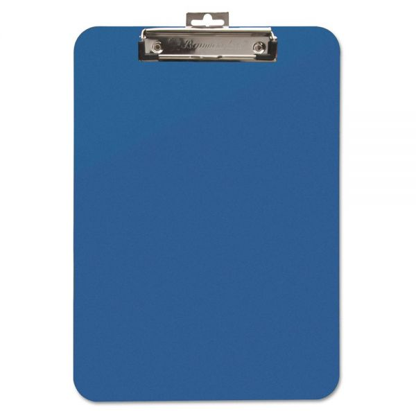 Baumgartens Unbreakable Recycled Blue Plastic Clipboard