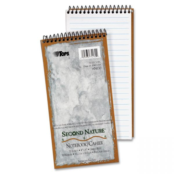 TOPS Second Nature Recycled Reporter's Notebook