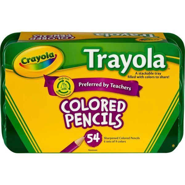 Crayola Trayola Colored Pencil Set