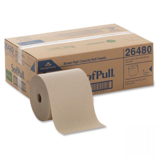 SofPull Hardwound Paper Towel Rolls