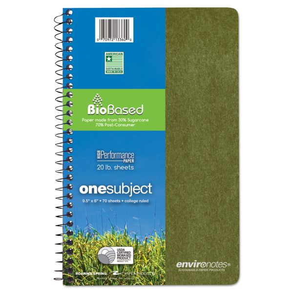 Environotes 1-Subject Notebook
