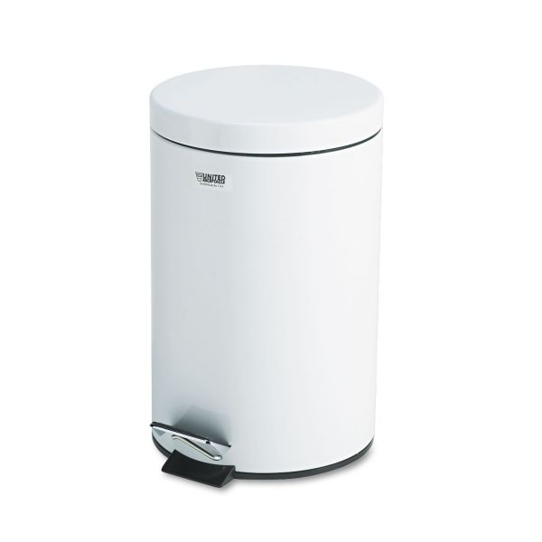 United Medi-Can Step On 3.5 Gallon Trash Can With Lid