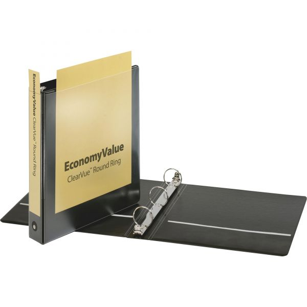 "Cardinal EconomyValue 1 1/2"" 3-Ring View Binder"