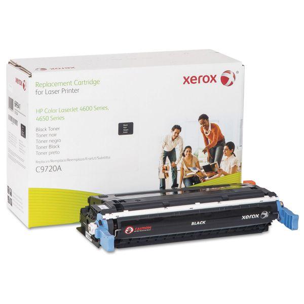 Xerox Remanufactured HP C9720A Black Toner Cartridge