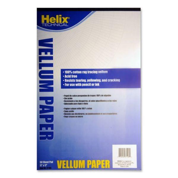 Helix Vellum Paper Pad