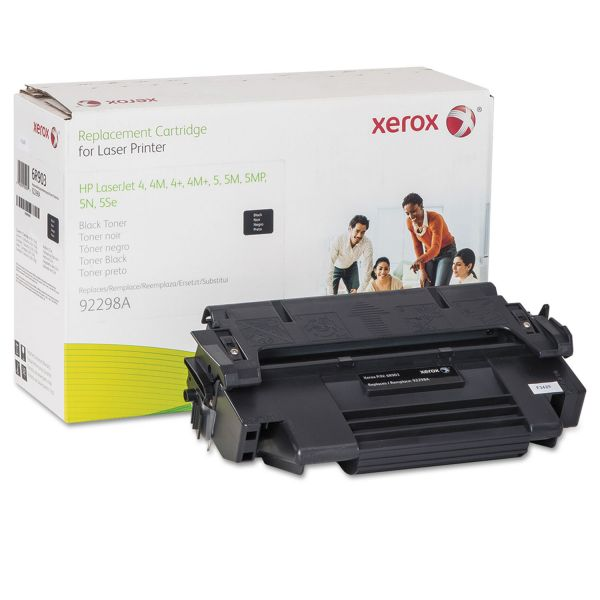 Xerox 006R00903 Replacement Toner for 92298A (98A), 7100 Page Yield, Black