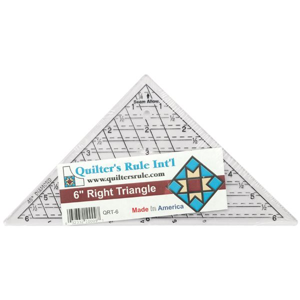 Quilter's Mini Triangle Ruler