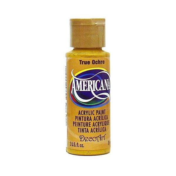 Deco Art True Ochre Americana Acrylic Paint