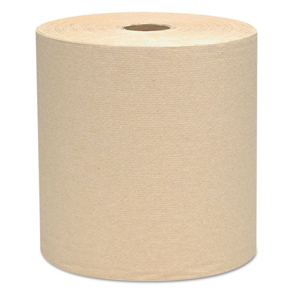 Scott Hard Roll Paper Towels, 8 x 800 ft, 1-Ply, Natural, 12 Rolls/Carton