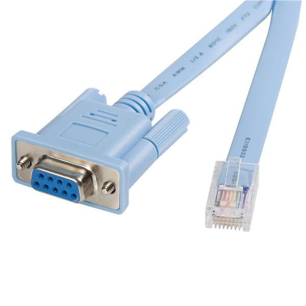 StarTech.com Cisco console router cable - RJ45 (m) - DB9 (f) - 6 ft