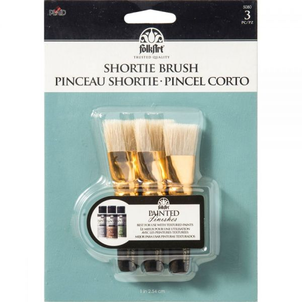 FolkArt Shortie Brush Set