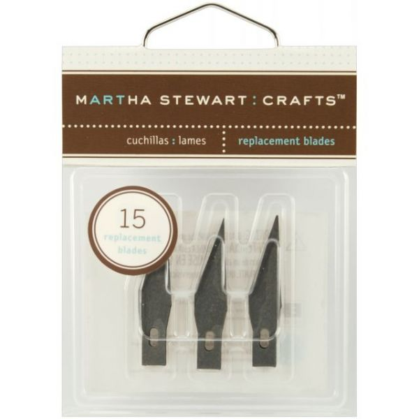 Martha Stewart Craft Knife Refill Blades 15/Pkg