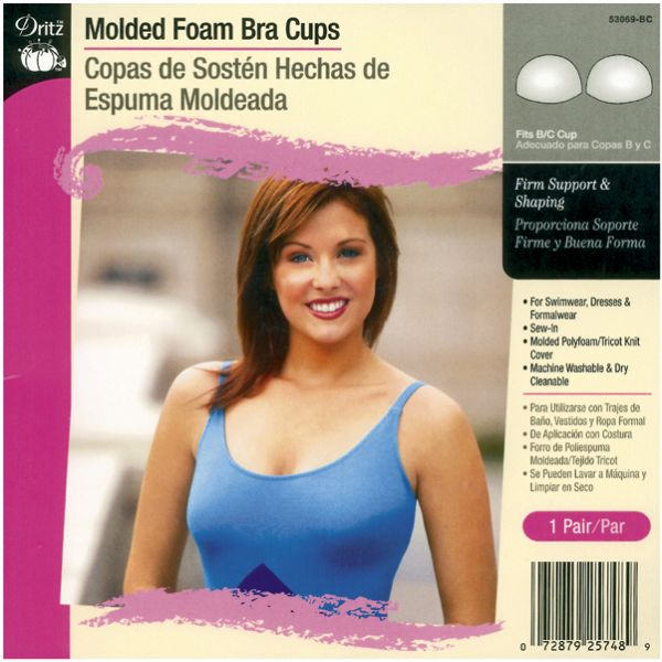 Molded Foam Bra Cups