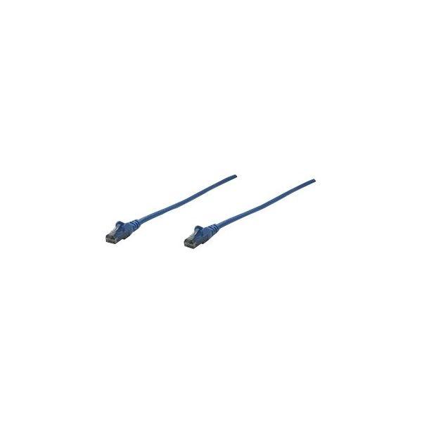 Intellinet Patch Cable, Cat6, UTP, 1.5', Blue