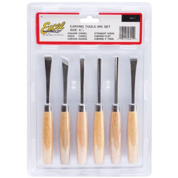 Beginner's Woodcarving Tool Set