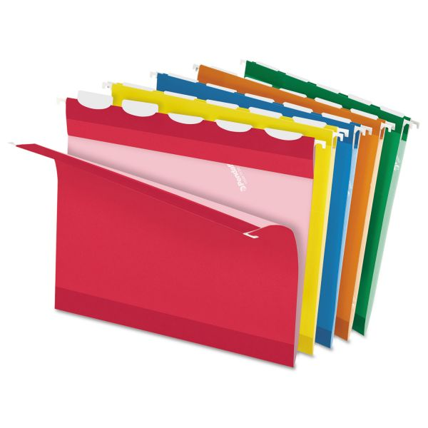 Pendaflex Ready Tab Color Hanging File Folders