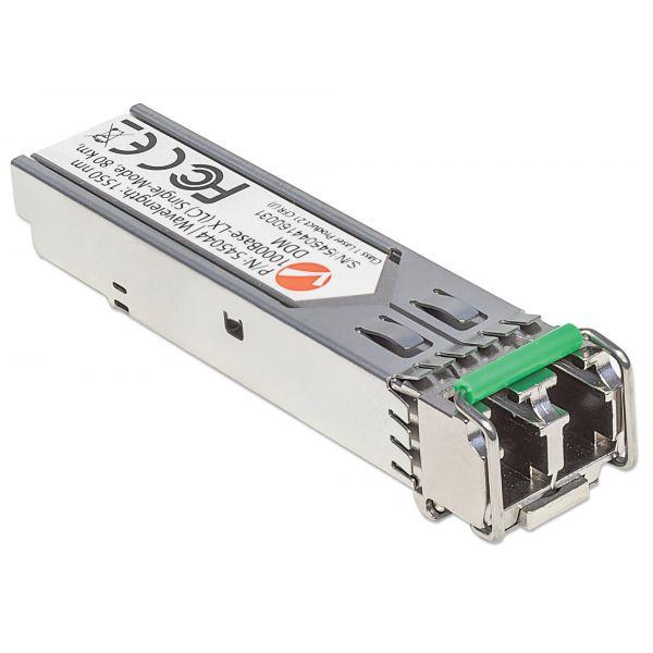 Intellinet Gigabit Fiber SFP Optical Transceiver Module
