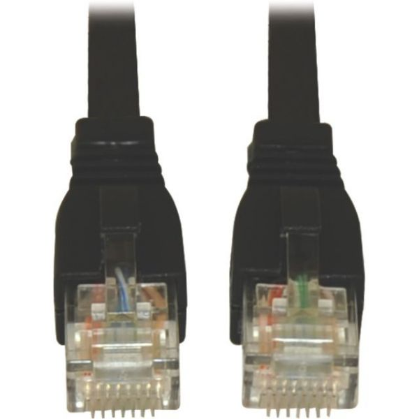 Tripp Lite 25ft Augmented Cat6 Cat6a Snagless 10G Patch Cable RJ45 Black 25'