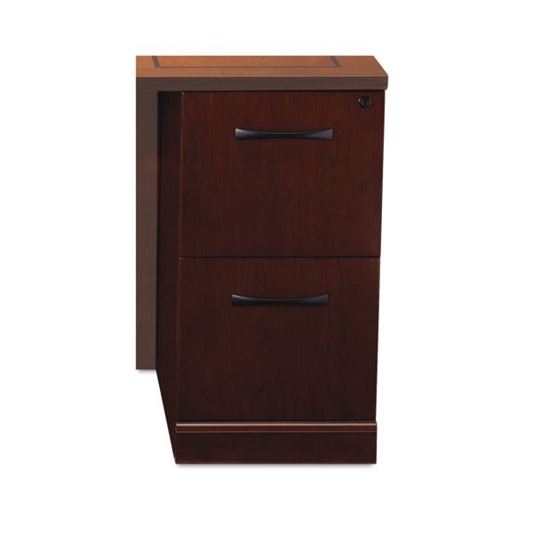 Tiffany Industries Sorrento File/File Credenza Pedestal, 15 1/4w x 24d x 28 1/4h, Cherry