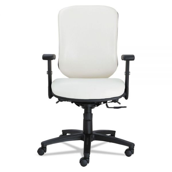 Alera Eon Series Multifunction Mid-Back Stain Resistant Office Chair