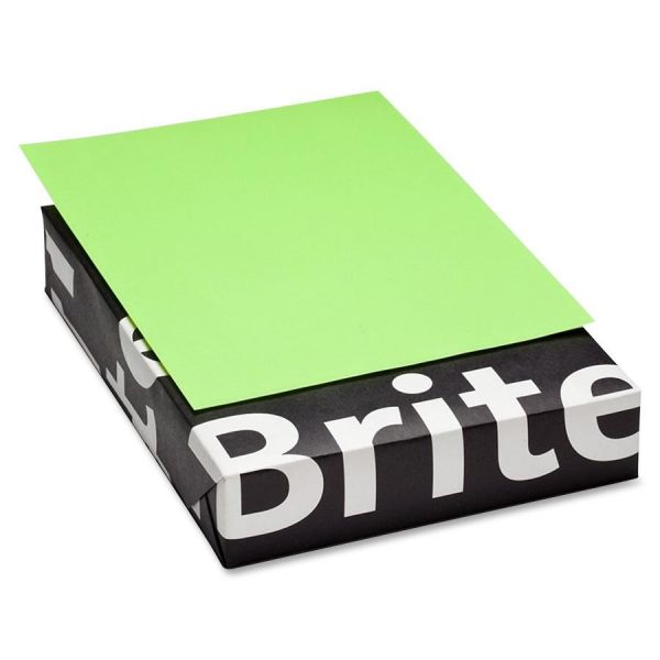 Mohawk Brite-Hue Colored Paper - Ultra Lime