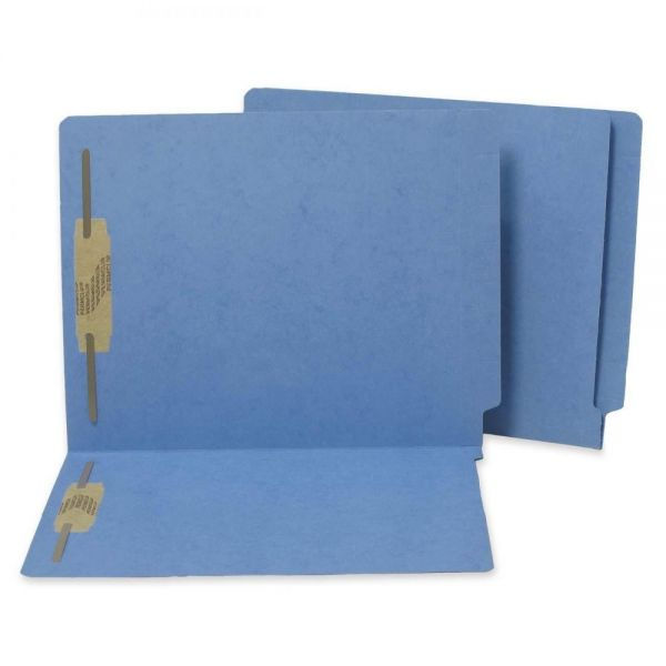 SJ Paper WaterShed/CutLess End Tab File Folders With Fasteners