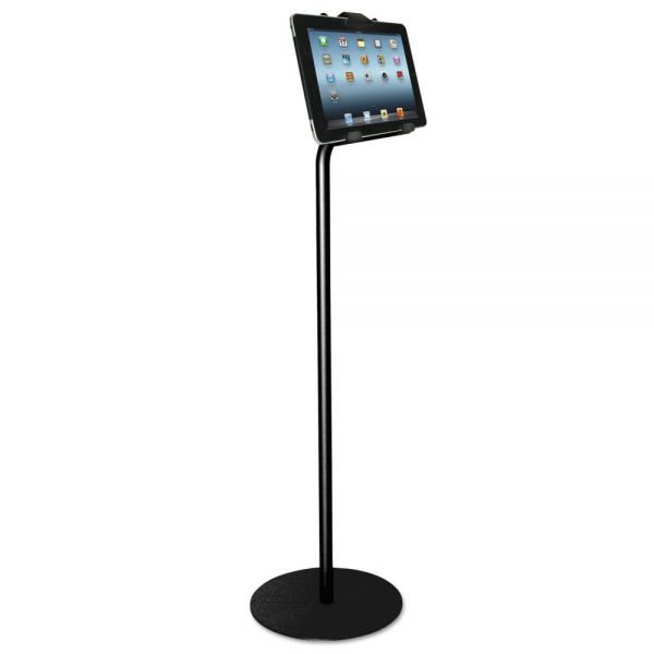 "Kantek Tablet Kiosk Floor Stand for 7"" to 10"" Tablets, Black"
