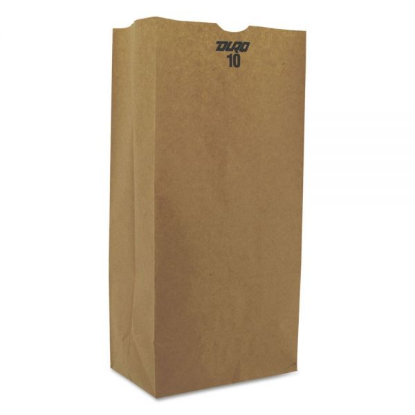 General #10 Extra Heavy-Duty Brown Paper Grocery Bags