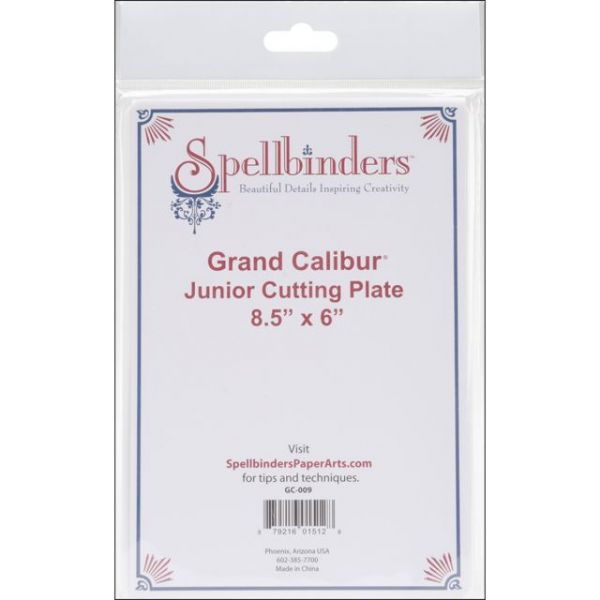 "Spellbinders Grand Calibur Junior Cutting Plate 8.5""X6"""