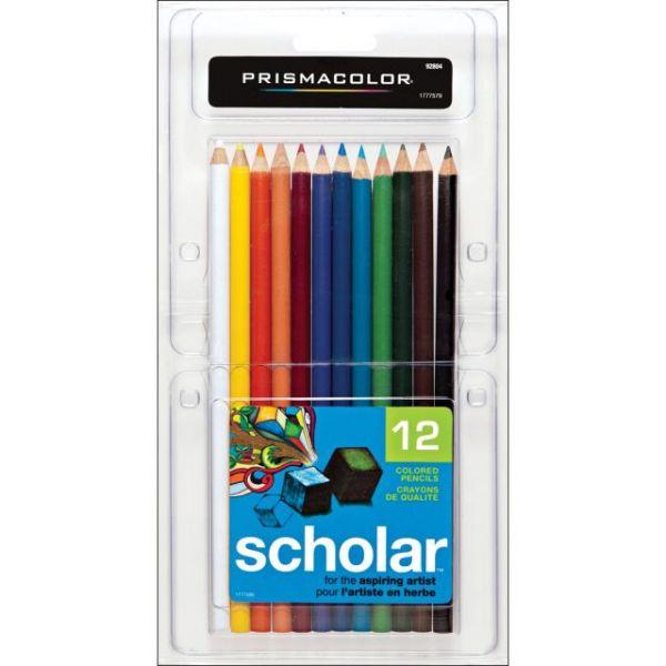 Prismacolor Scholar Colored Pencils 12/Pkg