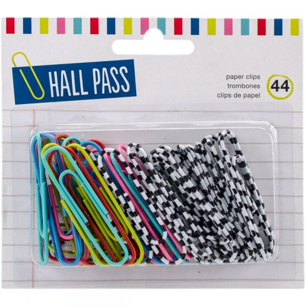 "Hall Pass Paper Clips 2"" 44/Pkg"