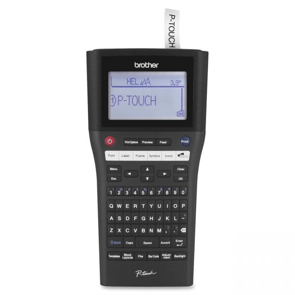 Brother P-Touch PT-H500LI Label Maker with Li-ion Battery and PC Connectivity