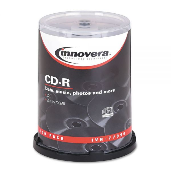 Innovera Recordable CD Media